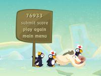 Verrueckte Pinguine